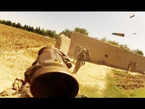 Special Operations Helmet Cam Firefight in Afghanistan