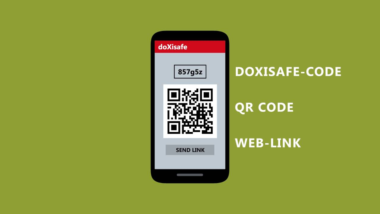 doXisafe App – your free scanner with text recognition OCR