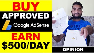 Should You Buy Adsense Account With Approved Website 2019? Earn $500/DAY