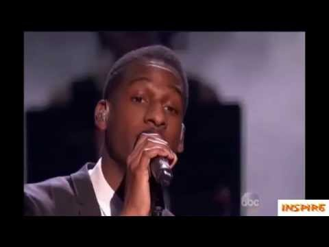 Macklemore, Ryan Lewis, Leon Bridges performs Kevin American Music Award