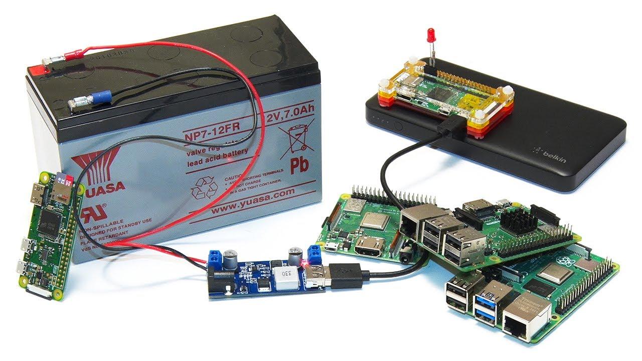 Raspberry Pi Battery Power