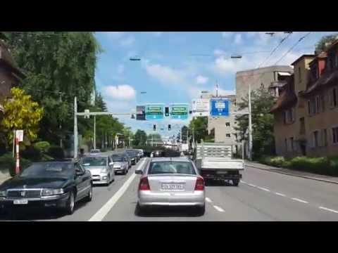Samsung Galaxy S4 Video test 1080p / Driving from Zürich City to Zürich Airport