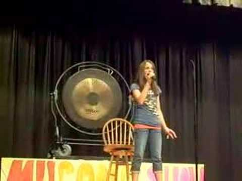 Madison Beaty Sings Martina McBride's Broken Wing
