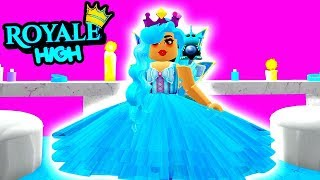 I WON PROM QUEEN! PRINCESS MAKEOVER! Roblox Royale High School | Royal High School | Roblox Roleplay