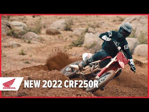 New 2022 CRF250R