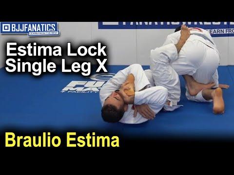 Estima Lock - Single Leg X  - Toe Hold by Braulio Estima