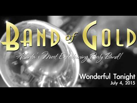 "Atlanta Band of Gold performs ""Wonderful Tonight"""