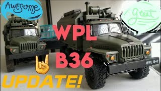 WPL B36 Ural 4320 Twins! Just an Update.
