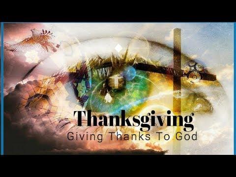 2017 Thanksgiving Church Sermon, Service - CNHC A Healing Place