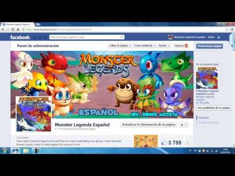 Hack para Monster Legends Oro | Gemas | Comida 2013 (TODABIA FUNCIONA) Videos De Viajes