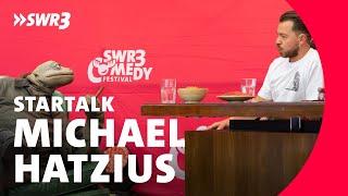 Michael Hatzius im Live-Talk beim SWR3 Comedy Festival 2018