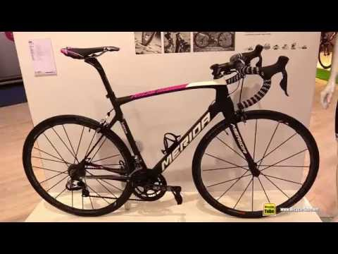 2016 Merida Ride Team Lampre Media Racing Team Road Bike - Walkaround - 2015 Eurobike