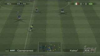 World Soccer Winning Eleven 9 Xbox Gameplay -