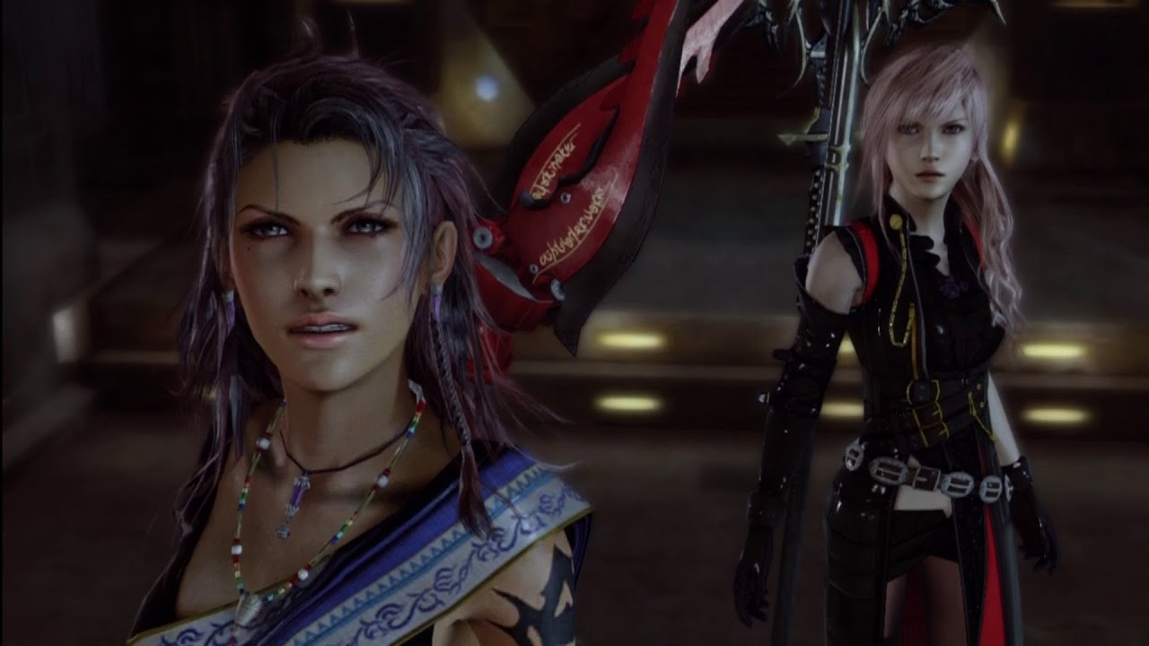 Main story cutscene lightning returns ffxiii fangs appearence main story cutscene lightning returns ffxiii fangs appearence cinematic full hd 1080p youtube voltagebd Image collections
