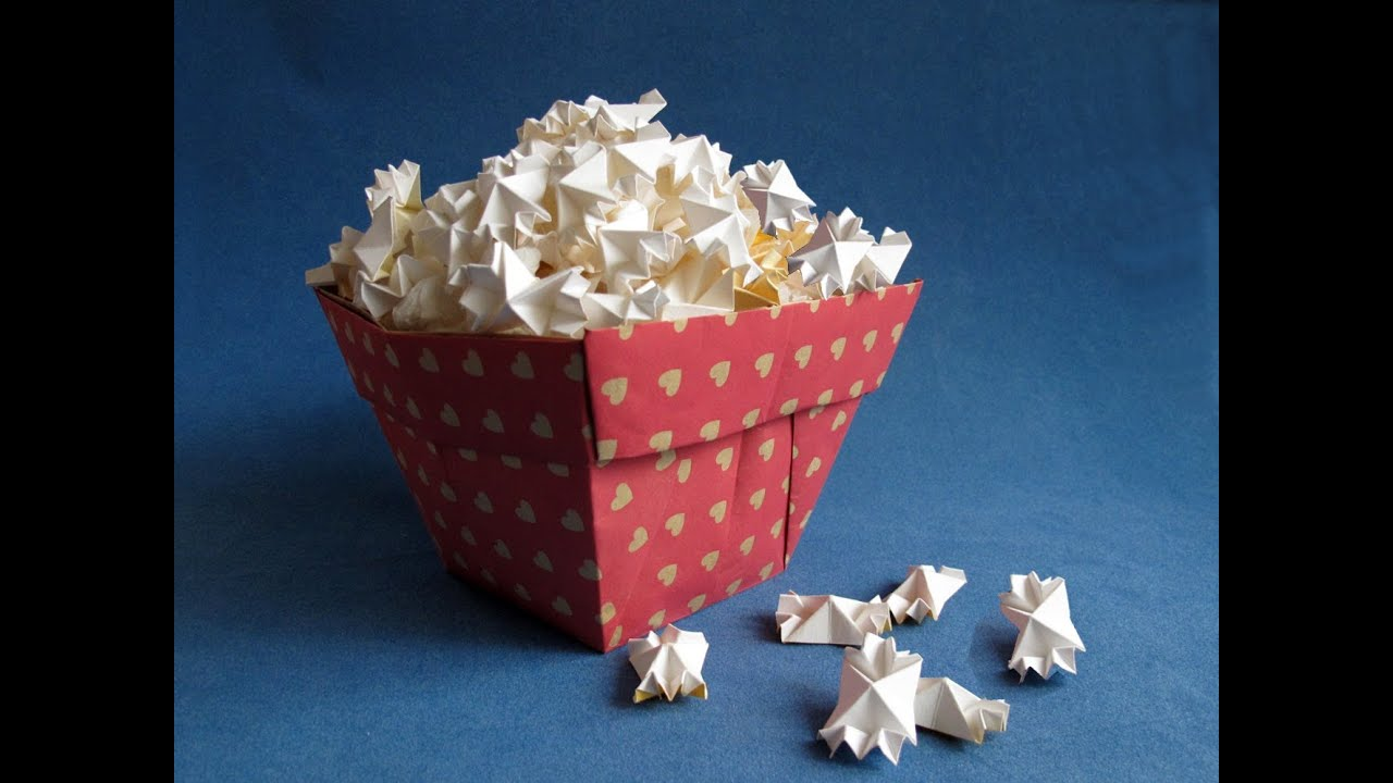 How To Make And Pop Paper Popcorn You