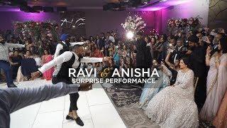 Ravi & Anisha | Surprise Bhangra Performance [England]