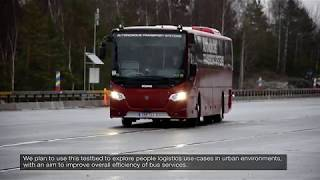 Remote bus driving over 5G