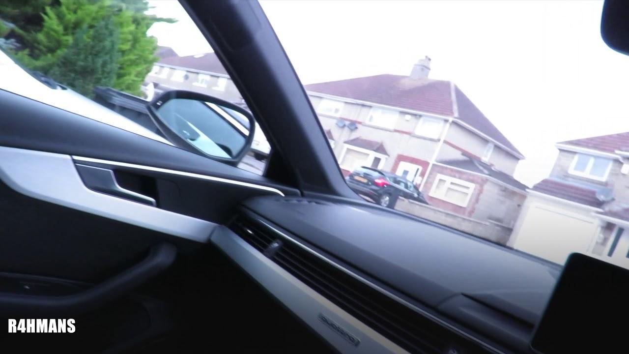 Audi A4 Speaker & Windows Fixed A4 B9 2017