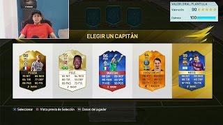 A POR EL FUT DRAFT DE 190 VALORACION!! FIFA 16