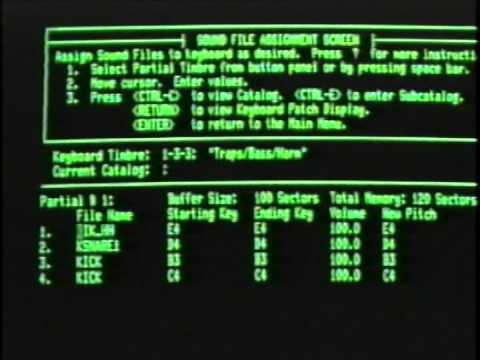 3.1 - Synclavier - Video Cassette - [ The SAMPLE-TO-DISK System ]