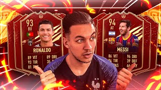 PACKS FUTCHAMP ELITE 1 ! CR7, MESSI DANS LA TOTW !