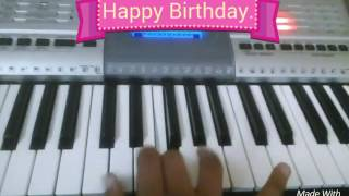 How to play : happy birthday song