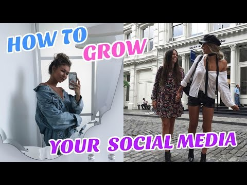 HOW TO GROW YOUR SOCIAL MEDIA!!