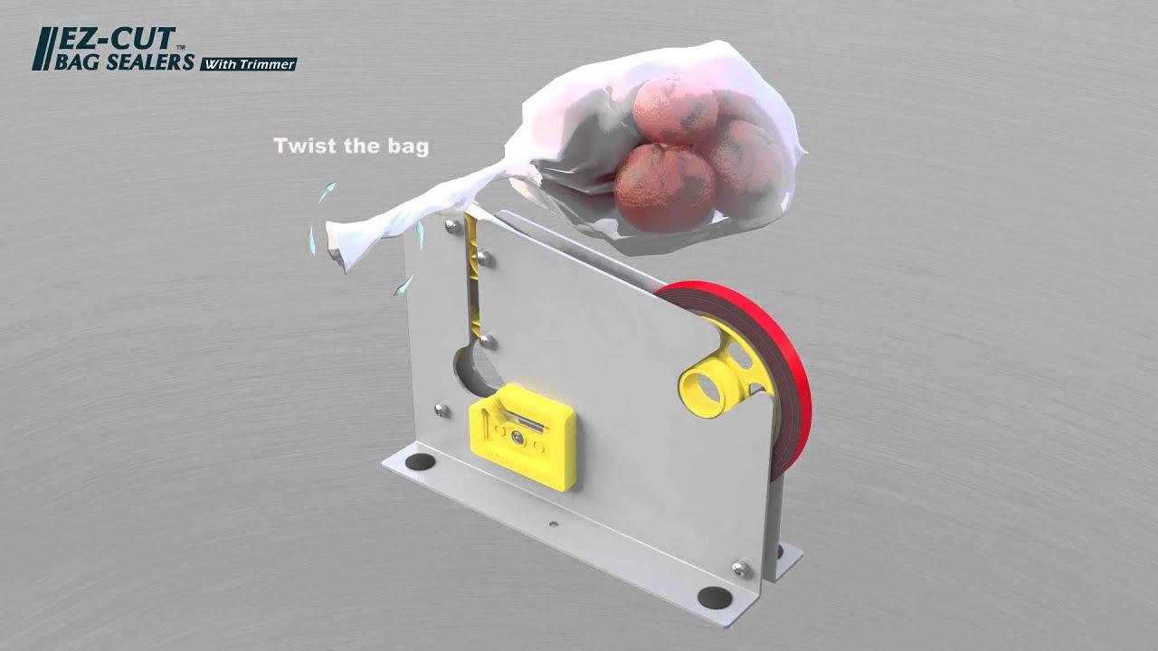 bag taping machine