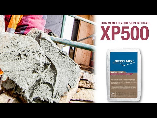 SPEC MIX Thin Veneer Adhesion Mortar - XP500