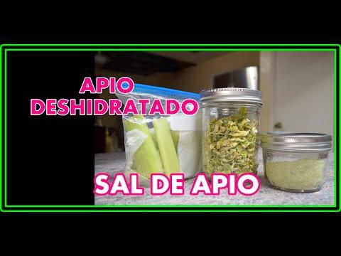 APIO DESHIDRATADO, SAL DE APIO Y OTROS TIPS