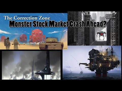 Monster Stock Market Crash Ahead? We are now  in the Correction Zone.