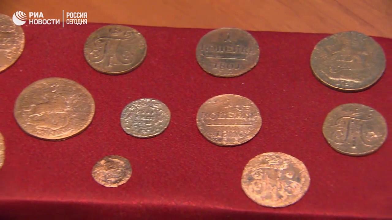 Монеты времен ивана грозного перещепинский клад