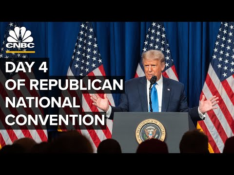 President Trump outlines his vision for second term at the 2020 RNC — 8/27/2020
