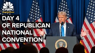 President Trump outlines his vision for second term at the 2020 RNC - 8/27/2020
