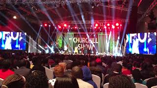 DJ Shiti Vs DJ Stylez On Churchill Show - Rap Battle