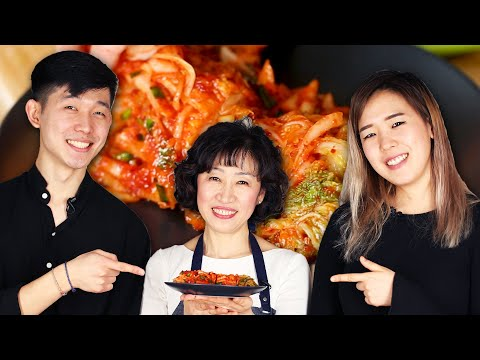 Mom Teaches Korean Americans How To Make Kimchi