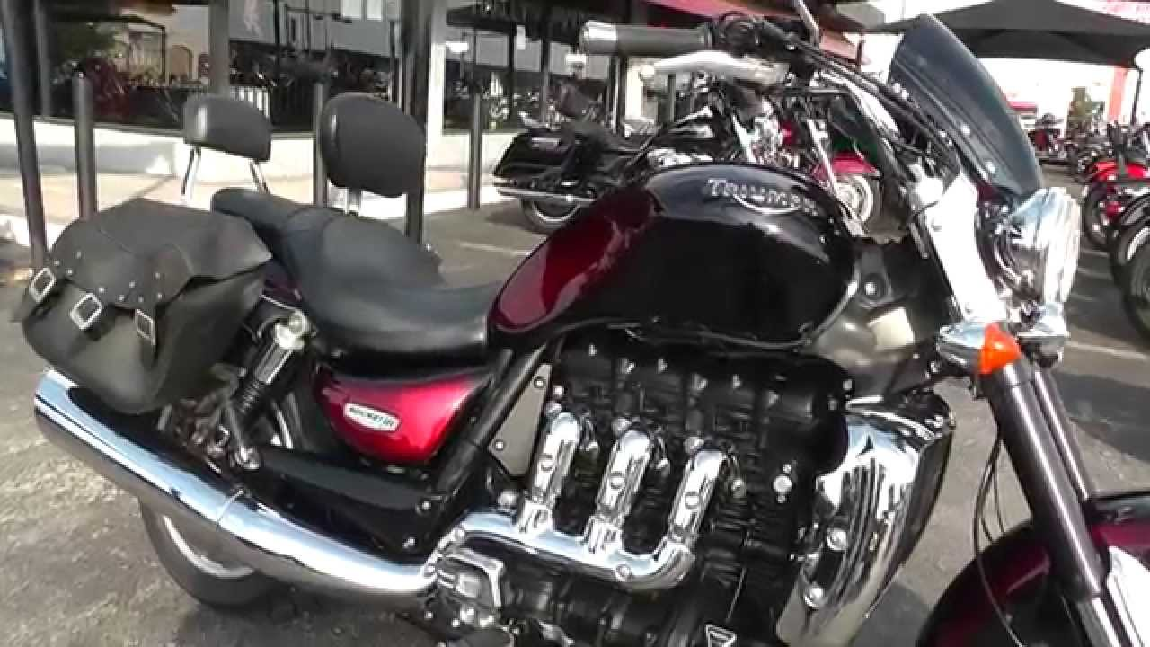 523478 - 2012 triumph rocket iii - used motorcycle for sale - youtube