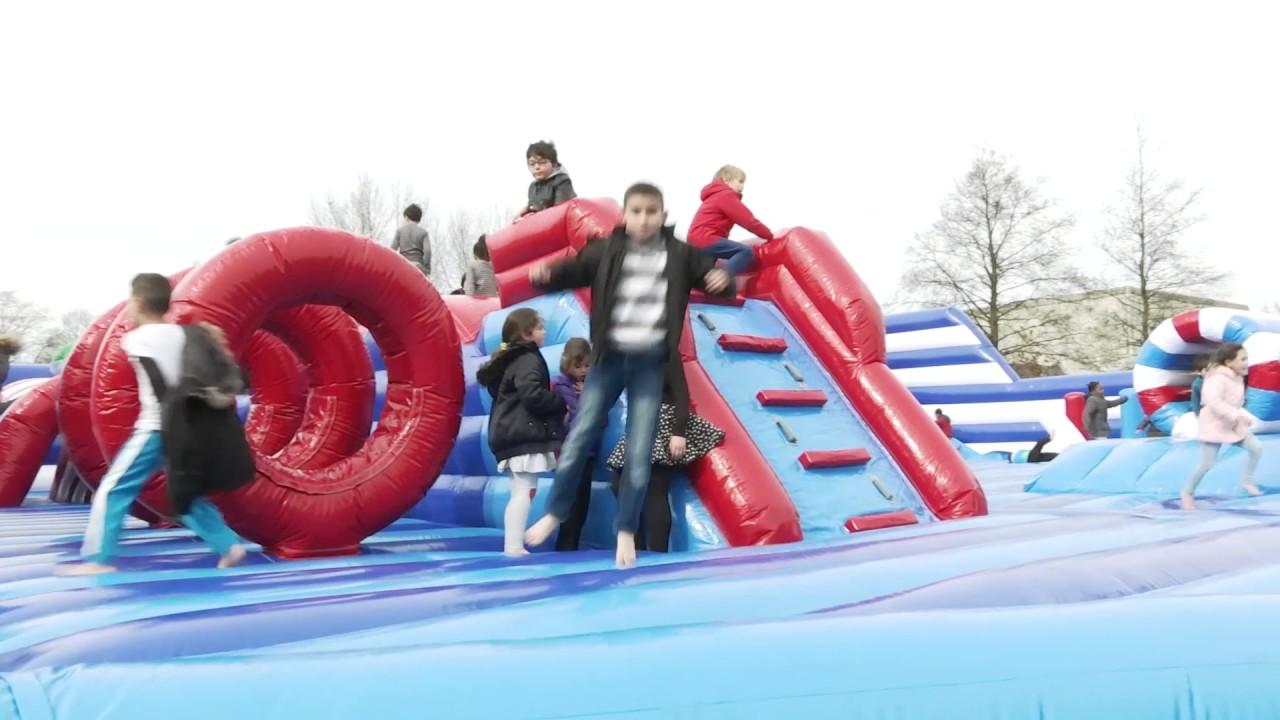 pop up speeldorp 1 attractieverhuur set in motion youtube