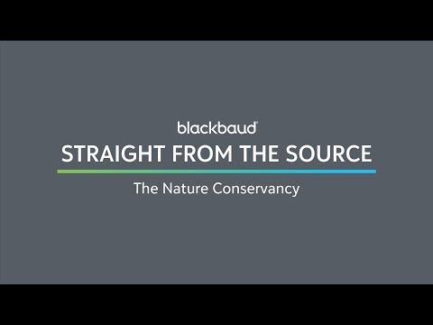 Straight from the Source: The Nature Conservancy