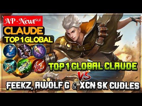 Claude New King VS Feekz, AeroWolf G and XcN Sk Cudles [ Top 1 Global Claude ] AP · Newtˢᵘⁱ Claude
