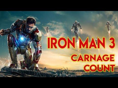 Iron Man 3 (2013) Carnage Count