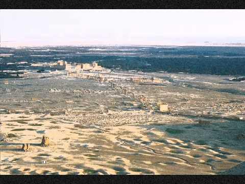 beautiful ancient Aramaic city of Palmyra (Syria)