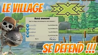 [EPIC]Le village xXx se défend ! Clash of clans Fr