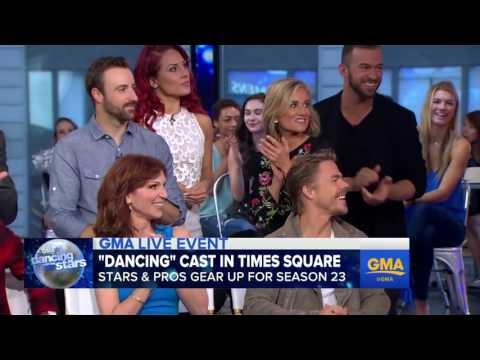 The DWTS Season 23 Pro and Celebrity Couples on Good Morning America