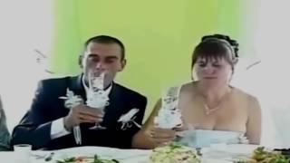 Пьяная невеста!Приколы на свадьбе 2017!