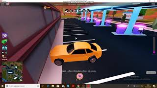 Stealing a little in jailbreak Roblox