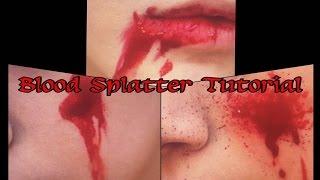 Blood Splatter Tutorial