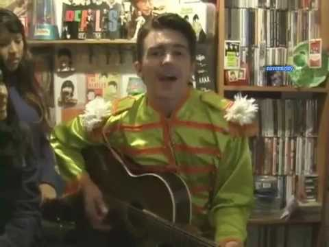 Drake Bell-Taxman (Beatles cover) at Caverncity