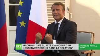 Ce qu'il faut retenir de la rencontre Macron-Poutine