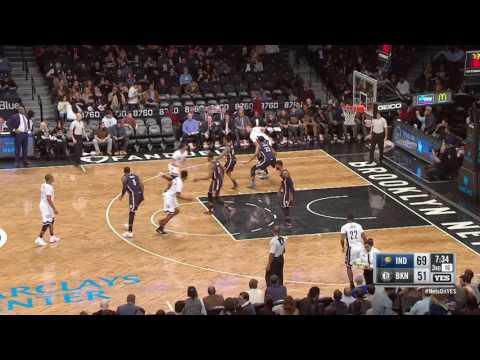 Indiana Pacers vs Brooklyn Nets   February 3, 2017   NBA 2016-17 Season